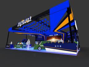 京球电池展览模型