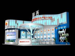 陕西高新展览模型